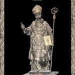 Mappatura delle gemme, Statua di Sant'Ambrogio, Duomo di Milano
