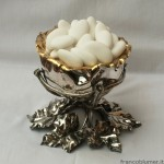Caspo; argento sbalzato, cesellato parzialmente dorato