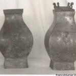T'ao-T'ieh e anelli. Dinastia Han , 206AC - 220DC