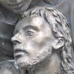 Il volto del Cristo, prima del restauro