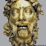 Dio Padre, autore Beltramino de Zuttis da Rho 1416-1425, rame sbalzato, cesellato e dorato ad amalgama, dopo il restauro