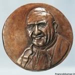 Papa Giovanni XXIII - medaglia in bronzo