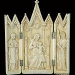 Restoration ivory: Museo civico Della Torre, Treviglio (Dopo)