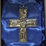 San Procolo - lamina d'argento sbalzata e cesellata (Museo Bernareggi Bergamo)
