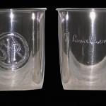 Bicchieri porta penne in lamina d'argento cesellata - Scuola di San Rocco, Venezia
