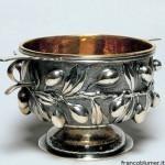 Boscoreale coppa in argento sbalzato e cesellato