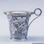 Boscoreale vaso in argento sbalzato e cesellato