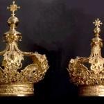 Corone per la Madonna e il Bambino del Santuario della Basella