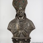 busto reliquiario san Carlo sec. XVII
