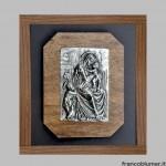 Pace in argento a getto e cesellato - Biblioteca Ambrosiana, Milano
