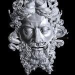 Dio Padre, scansione in 3D realizzata da Ing. Francesco Fassi del Politecnico di Milano, profilo
