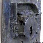 Porta Santa a due battenti anni 1748 – 1749