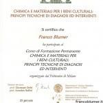 Chimica e materiali per i beni culturali: principi tecniche di diagnosi e interventi