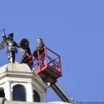 San Michele è tornato sul Santuario di Tirano