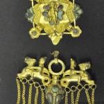 orecchino in oro