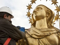 Franco Blumer e il restauro della Madonnina