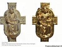 Dio Padre prima e dopo il restauro