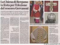 L'eco di Bergamo 27 settembre 2013 Mons