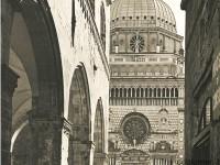 Bergamo, Cappella Colleoni (foto E. Blumer anni '30)